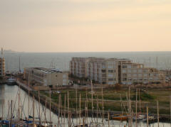 Island Project from Marina towers herzliya marina