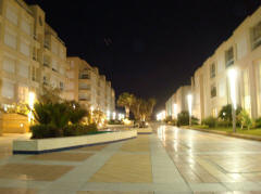 Island Project Herzliya Marina at night 1