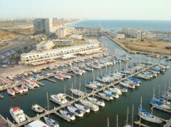 View Marina Herzliya From The towers