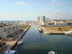 Marina Herzliya From The Laguna