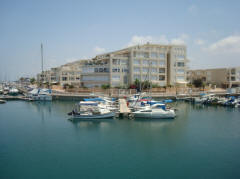 Island Project Herzliya Marina with yacht 2
